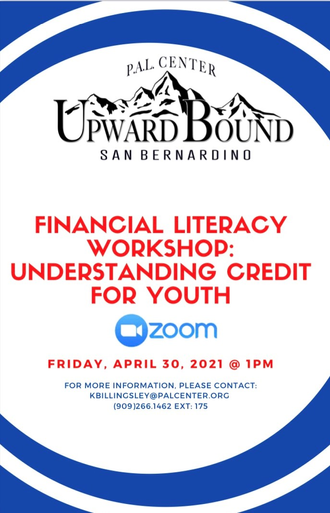 Financial Literacy Workshop presented by PAL Center's Upward Bound Program