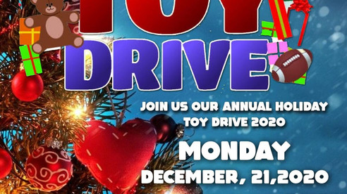 Toy Drive: December 21st