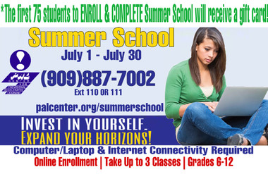 Don't Miss Out! Enroll for Summer School 2021 Today!