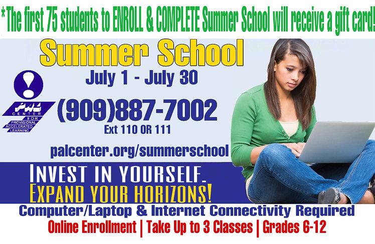 Updated Summer School Page - Website Ban