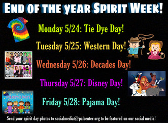 End of the Year Spirit Week!