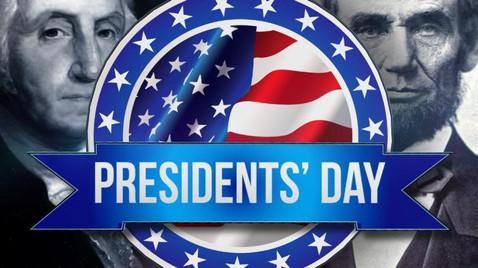 February 15th No School: President's Day