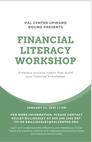 Financial Literacy Workshop presented by PAL Center's Upward Bound Program