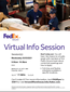 Fed Ex Job Opportunity Happening TOMORROW 3/3