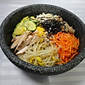 R3. 치킨 돌솥비빔밥 Chicken Stone Bowl Bibimbab (雞肉石鍋拌飯)
