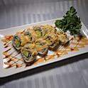 BR8-2. 야채롤 튀김 Vegetable Roll Tempura (蔬菜天妇罗卷) 8pcs