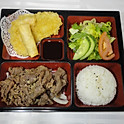 LB4. 소불고기 런치 Beef Bulgogi BBQ Lunch (韩式烤牛肉便当)
