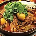 T3. 감자탕전골 Gamjatang-Jeongol (韩式猪骨土豆锅) (A Little Spicy) for 2