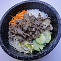 R6. 불고기돌솥비빔밥 Bulgogi Stone Bowl Bibimbab (韓式牛肉石鍋拌飯)