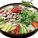 T2. 곱창전골 Gopchang-Jeongol (韩式肥肠火锅) (Spicy) for 2