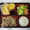 LB6. 돼지불고기 런치 Pork Bulgogi BBQ Lunch (韩式烤猪肉便当)