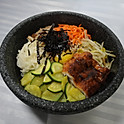R7. 장어 돌솥비빔밥 BBQ eel Stone Bowl Bibimbab (韩式烤鳗鱼石锅拌饭)