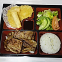 LB1. LA갈비 런치 LA Galbi Lunch (铁板牛仔骨便当)