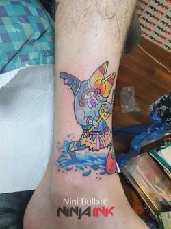 Nini Bullard, Ninja Ink Tattoo 202126