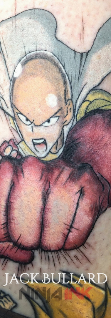 One Punch man tattoo