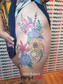 Nini Bullard, Ninja Ink Tattoo 202122