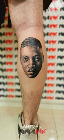 NAS Portrait Tattoo