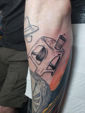 Bia Hoi Seat Tattoo