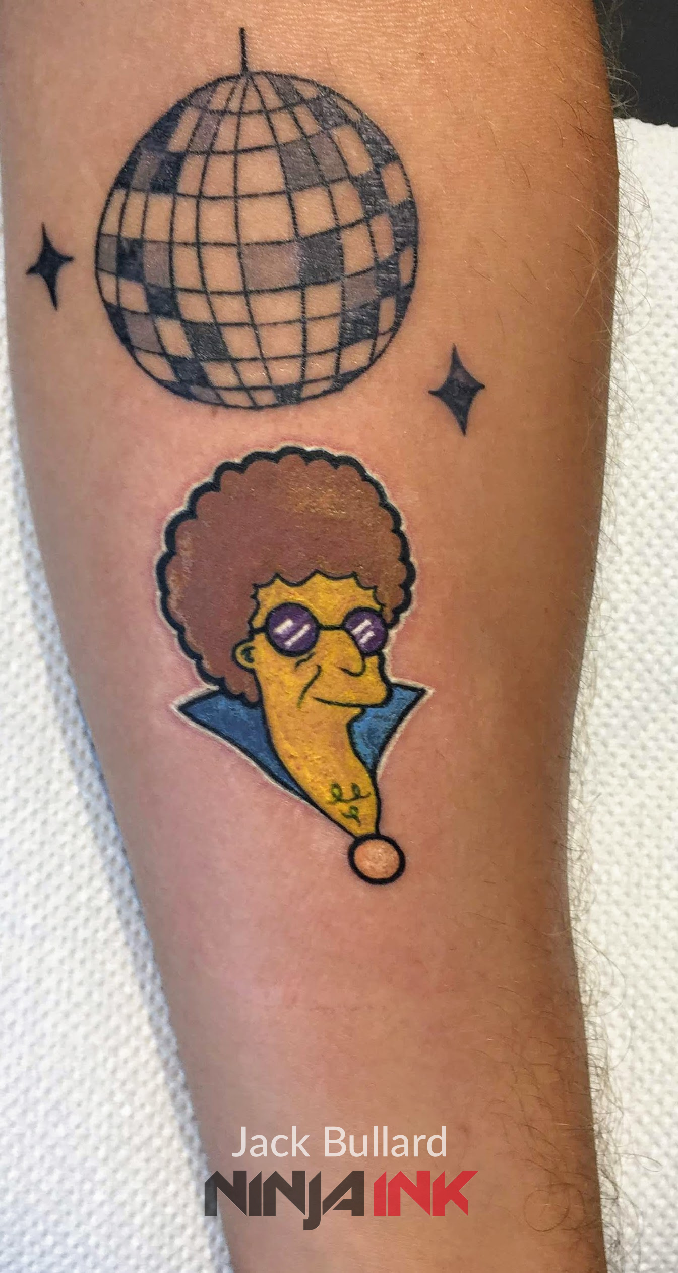 Disco Stu Tattoo