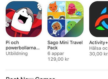 Our app rated on App stores list best new apps