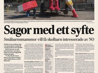 Intervju DI - Sagor med ett syfte