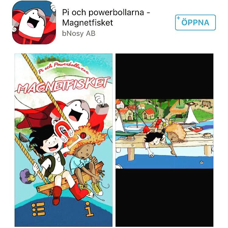 Pi och Powerbollarna app