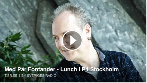 Pi och Powerbollarna intervju på P4 m Pär Fontander