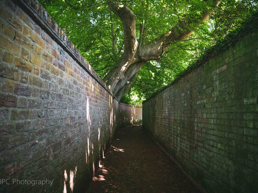 Passage in Grantchester, Cambridge