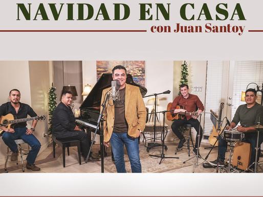 El Cantautor y Poeta Mexicano, Juan Santoy lanza EP «Navidad en Casa con Juan Santoy»