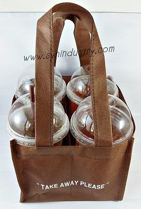 กระเป๋าหิ้วแก้ว 4 ช่อง