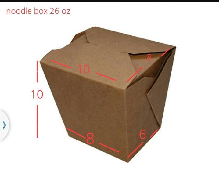 กล่องบะหมี่ ขนาด 26 oz.