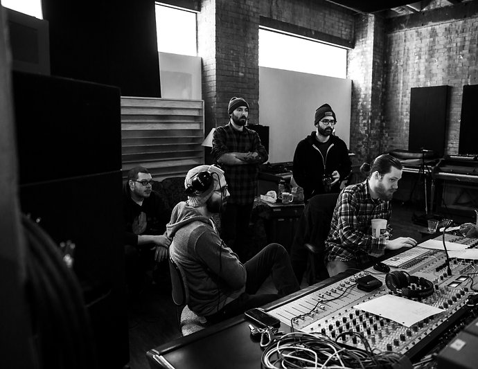 The Dirty Pennies at Wicked Squid Studios