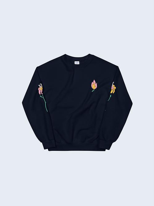 Flower Fire Unisex Sweatshirt