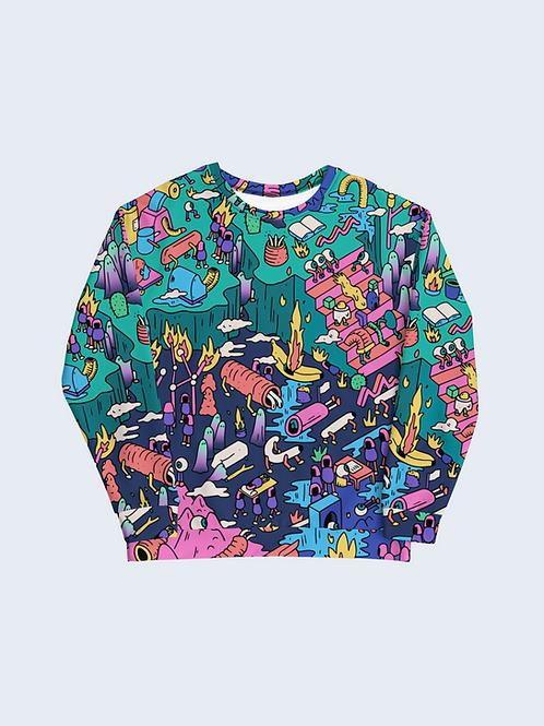 """The Full Moon Appearance"" Sweatshirt"
