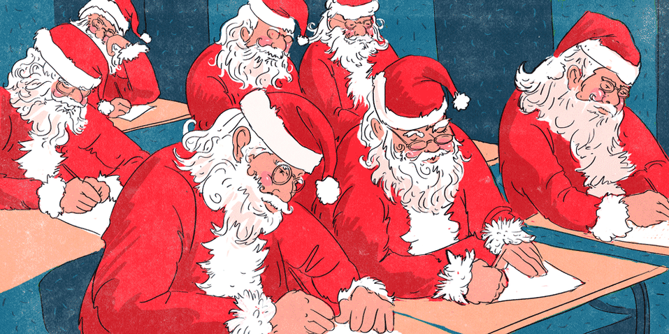 """The Art of St. Nick: The Schools That Teach Santas the Right Way to """"Ho, Ho, Ho"""""""