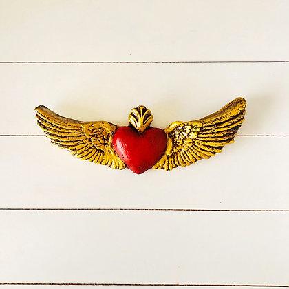 Corazón fatima rojo
