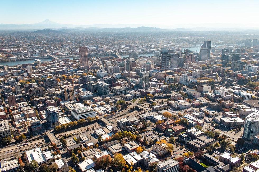 City of Portland, oregon skyline