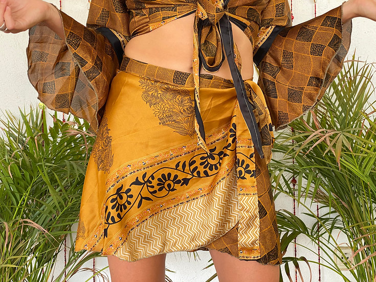 MAHITA Twin Set-Skirt