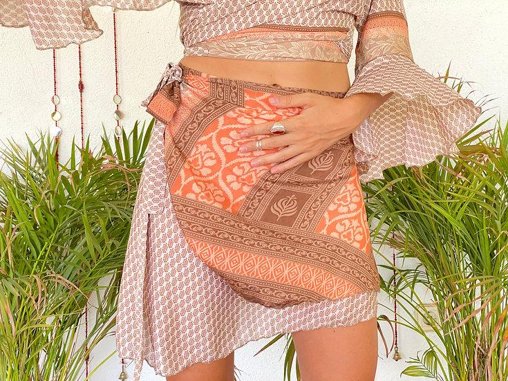 SVADHA Twin Set-Skirt