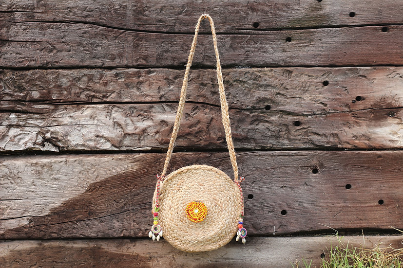 SAMANVITA Yute Small Bag
