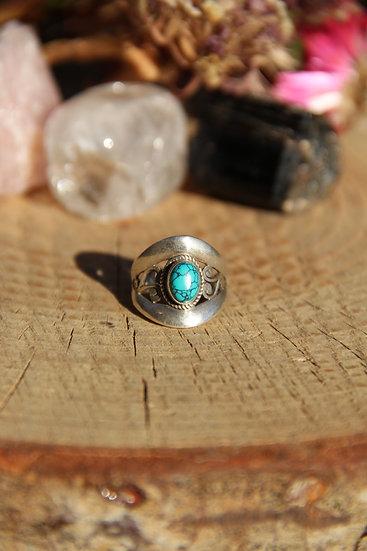 MANASA Silver Ring