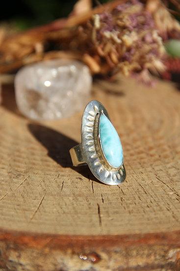 MAHA Silver Ring