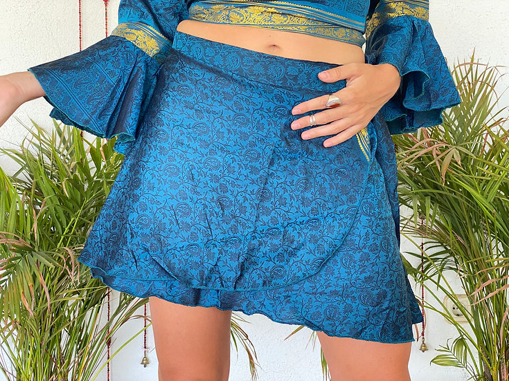 NIBHA Twin Set-Skirt