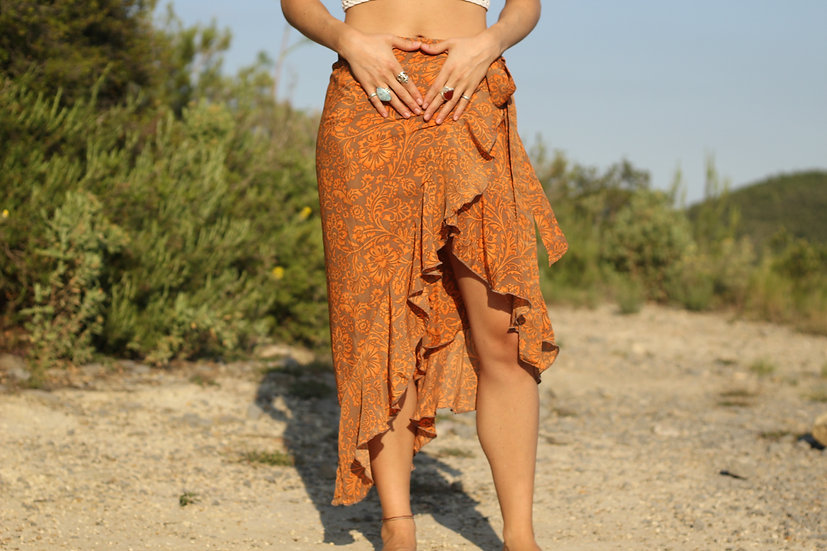 MAHASAYA Wrap Skirt
