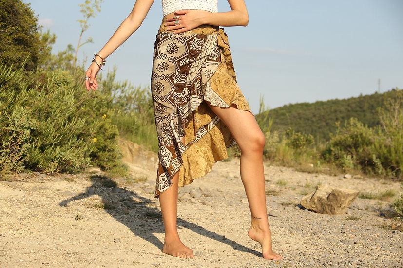 KRIYA Wrap Skirt