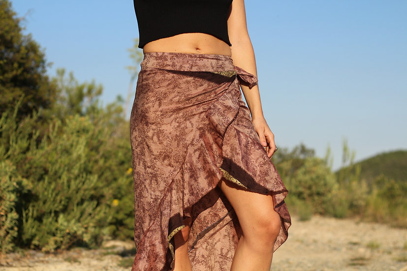 NARAYANI Wrap Skirt (S/M)