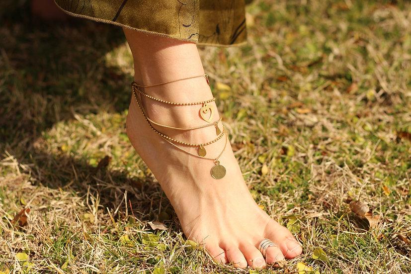 MUNDASURA Anklet