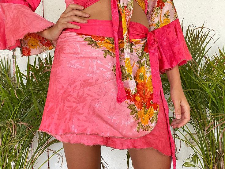 GATA Twin Set-Skirt