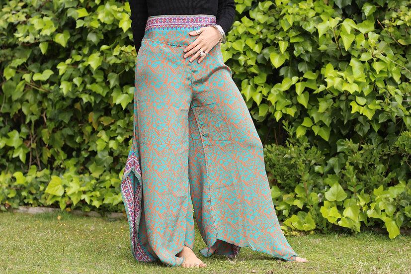 KUMKUM Butterfly Pants