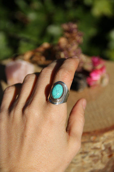 CINMAYI Silver Ring